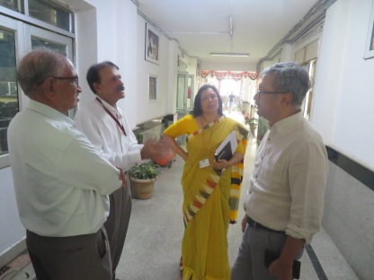 Visit of Joint Secretary and Director, Libraries, MoC to DPL