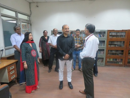 Visit of Joint Secretary, MoC to DPL